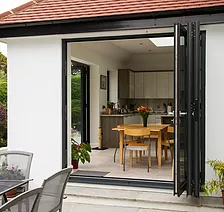Bi-fold Doors by Surbiton Glass