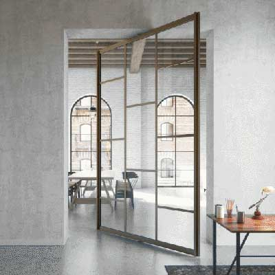 Pivot Doors by Surbiton Glass
