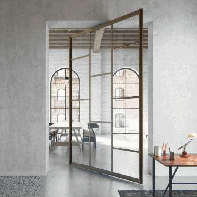 Pivot Doors by Surbiton Glass
