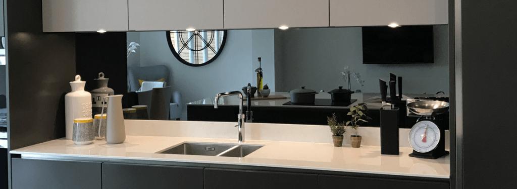 Kitchen Mirrored Splashback
